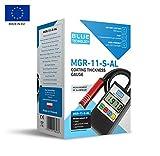 Blue Technology MGR-11-S-AL Schichtdickenmessgerät Lacktester Lackschichtenmesser   Stahl & Aluminium   Hergestellt in EU