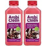 AmbiClean® Flüssig-Entkalker für Kaffeevollautomat, Kaffee-Maschine, Wasserkocher etc. | 100% Natürlicher Kalk-Reiniger - 2 x 250ml