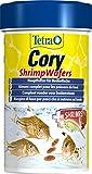 Tetra Cory ShrimpWafers (Hauptfutter für am Boden fressende Fische mit 10 % Shrimps) 100 ml