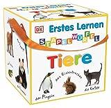 Erstes Lernen Stapelwürfel. Tiere: 10 stabile Karton-Würfel ab 1 Jahr mit tollen Fotos zum Spielen, Entdecken und Benennen