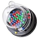 STOBOK Bingo Lotto Spiel Set Gumball Maschine Jackpot Maschine Fortunate Anzahl Picker Tabelle Spiele für Familie