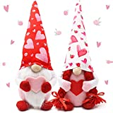 2 Stück Valentinstag Dekoration Gesichtslose Puppe Partytisch-Ornamente, Zwerg Plüschpuppe für Desktop Schlafzimmer Wohnzimmer Kamin Dekor, St. Patrick's Day/Ostern (2pcs Color 2)