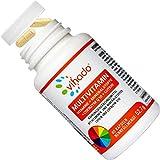 Vihado Multivitamin – Vitamine A-Z und Multimineral-Komplex – 26 Vitamine und Mineralstoffe hochdosiert – Nahrungsergänzungsmittel mit Q10, Zink und Tagetes Erecta – 1 Kapsel/Tag – 60 Kapseln