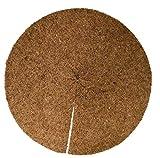 Mulchscheiben aus 100 % Kokos, 3er Pack, Durchmesser: 80 cm, ca. 0,7 cm dick, (EUR 8,97 je Stück), Matte geeignet als Unkrautschutz, Winterschutz, Pflanzenschutz, 100% biologisch abbaubar, nachhaltig