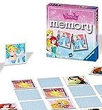 Ravensburger Disney Princess Mini Memory Matching Picture Snap Pair Spiel für Kinder ab 3 Jahren