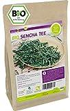 Bio Sencha Tee 250g - Glutenfrei - Grüner Tee - Vegan und ökologisch - Lose Blätter - Premium Qualität