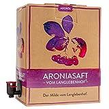 Bio Aronia Saft - Vom Langlebenhof 'Der Milde' - 3 Liter Box - 100% Direktsaft - Aronia Muttersaft - Besonders Mild