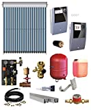 TWL Solar Röhrenkollektoren-Set EtaSunPro® VRK30   4,57-36,56 m²