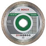 Bosch Professional Diamanttrennscheibe Standard for Ceramic Keramikfliesen für Winkelschleifer (Ø 125 mm)