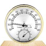 Hygrometer Thermo-Hygrometer Innen, Thermometer Hygrometer innen analog, Analoges Thermo-Hygrometer, HygrometerThermo-Hygrometer, Thermometer Hygrometer, HygrometerAussen Edelstahl