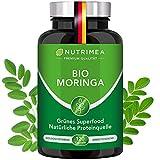 Moringa Oleifera Kapseln   BIO Qualität OHNE Zusätze   Energy Caps 4 MONATSVORRAT   Qualitätsprodukt von NUTRIMEA®   SUPERFOOD reich an Protein, Vitamin C, Aminosäuren 100% VEGAN