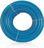 VITO Garden - 25 m PVC verstärkter Flexibel Gartenschlauch LongLIFE 25 mm | 1' aus robustem Kreuz- und Trikotgewebe, Druck- und UV-beständig | knickfrei | verdrehungsfest