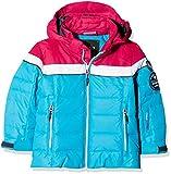 CMP Mädchen Wattierte 3000 Ripstop Skijacke Jacke, Blue Jewel, 128