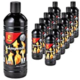 12 Liter (12x 1 Liter) Flash Lampenöl Petroleum-Lampen Gartenfackel Öl