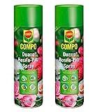 Compo Duaxo Rosen-Pilz Spray, Bekämpfung von Pilzkrankheiten an Rosen, Zierpflanzen und Kräutern, Anwendungsfertig, 800 ml