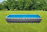 Intex Solar Cover Pool - Solarabdeckplane - 732 x 366 cm - Für Rectangular Frame Pool