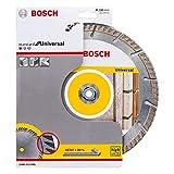 Bosch Professional Diamanttrennscheibe Standard für Universal (Beton und Mauerwerk, 230 x 22,23 mm, Zubehör Winkelschleifer)