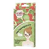 Victoria Beauty - Nasenstrips gegen Mitesser mit Aloe Vera, Clear Up Nose Strips, Blackhead Maske, Nasenmaske, Nasenstreifen zum Mitesser entfernen (1 x 6 Stk.)