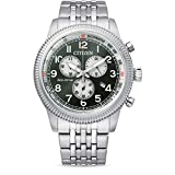Citizen AT2460-89X Eco Drive Chronograph 43mm 10ATM
