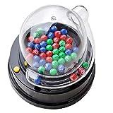 TOYANDONA 1 Set Elektrische Bingo Maschine mit Lotterie Bälle Zahlen 1-49 Kugeln Bingotrommel Tischspiel Lotto Spiel Familienspiele Partyspiele für Erwachsene Familien Kinder (Ohne Akku)