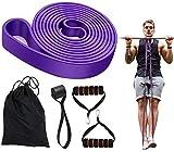 Gummiband Fitness, Trainingsband Sportband Krafttraining Zuhause