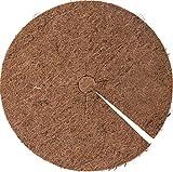 Connex Kokosscheibe Ø 40 cm - Natürlich isolierend - Mehrfach verwendbar & 100% biologisch abbaubar - Idealer Frostschutz von Kübelpflanzen / Kokos-Mulchscheibe / Kokosmatte / Frostschutz / FLOR80278