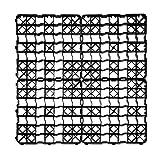acerto 8X Rasengitter Kunststoff Platte, 50 x 50 x 4 cm - Befahrbar – 2 m² Rasenfläche – bis 240t/m²   Hochwertige Rasengitterplatten, Paddockplatten