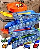 Jaques of London | Kugelbahn Auto Spielzeug | Qualität holzspielzeug | Perfekt Spielzeug ab 3 Jahre und über | Seit 1795