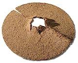 Windhager Kokos-Mulchscheibe COCODISC Winterschutz Pflanzenschutz Abdeckscheibe Frostschutz Kälteschutz für Bäume und Pflanzen, Ø 25 cm, 06556
