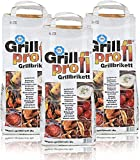 Grillprofi Premium Grillbriketts 26kg Grillkohle Grill Brikett Kohle Holz Holzkohle für Kugel- & Holzkohlegrill geeignet bis 3,5 Stunden Grilldauer | 100% Made in Germany | von Energie Kienbacher